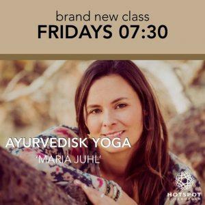 Ayurvedisk yoga @ Hotspot Copenhagen   Frederiksberg   Danmark