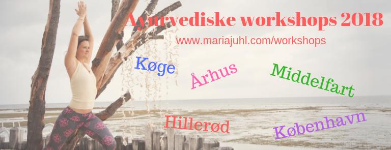 Ayurveda mini-turné i Danmark